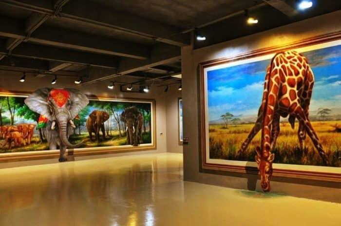 Художественная галерея в Паттайя