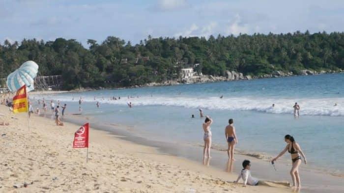 Карон пляж