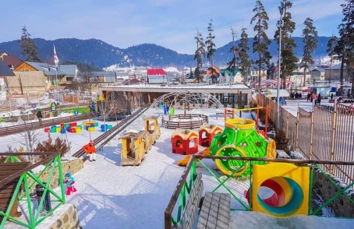 Горнолыжный курорт Бакуриани: снежное сердце Грузии.