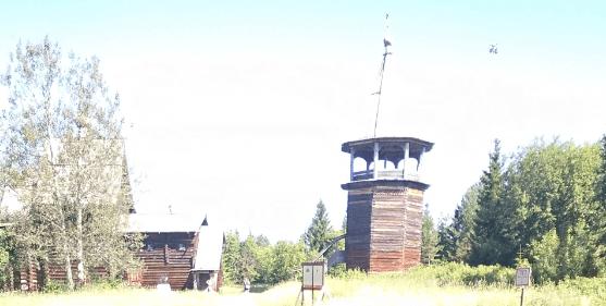Постройки в Хохлавке