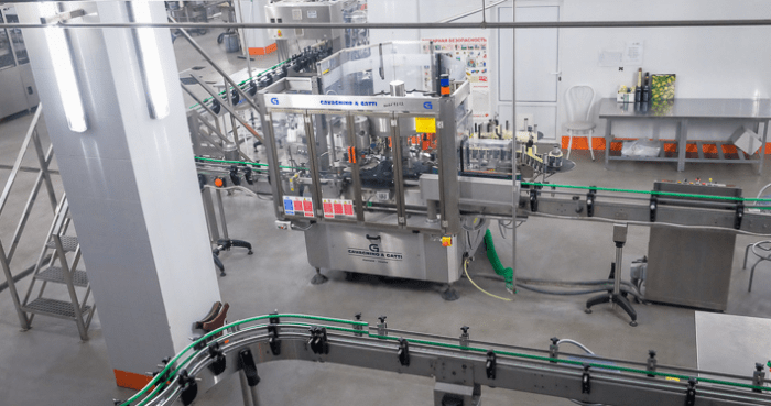 Производство завода