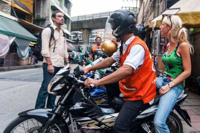 Такси мотоцикл