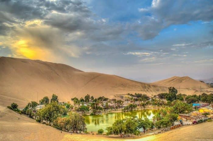 Западные пустынные оазисы