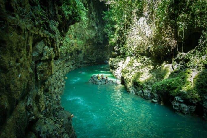 Зеленый каньон на Яве