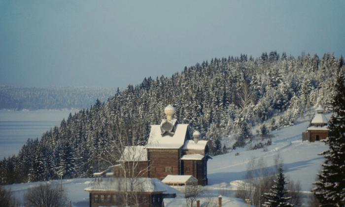 Зима в Хохловке