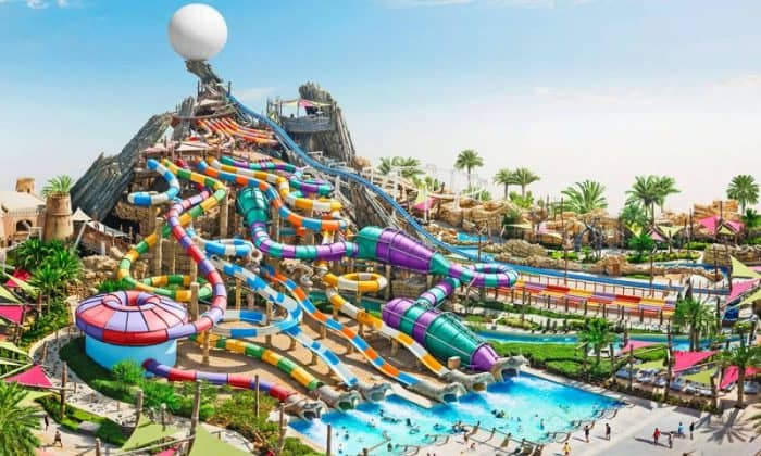 Аквапарк «Yas Waterworld»