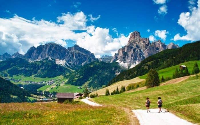 Доломитовые горы