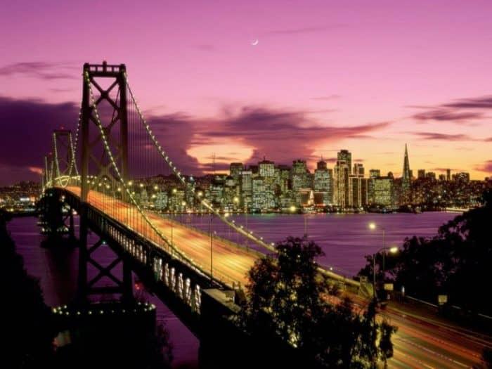 Примечательный городок Америки - Сан-Франциско