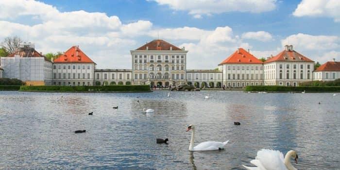 дворцовый парк Нимфенбург