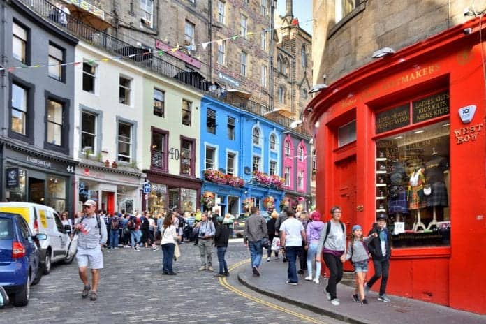Эдинбург шоппинг
