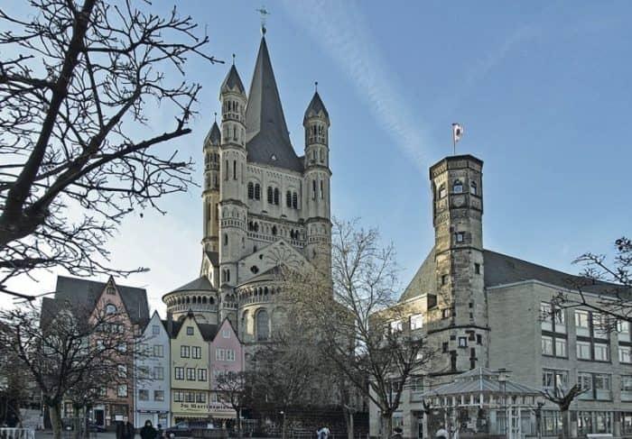 Парки и архитектурные постройки Кельна