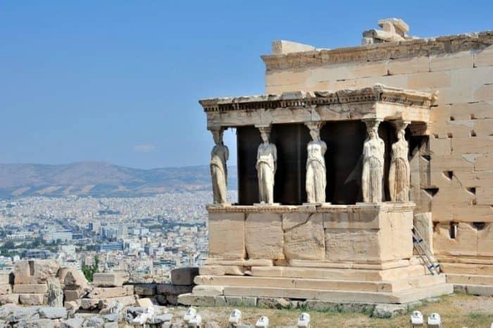 Курортный город Афины