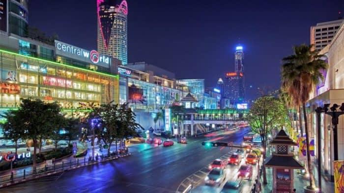 Курортный город Бангкок