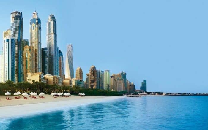 Курортный город Дубай