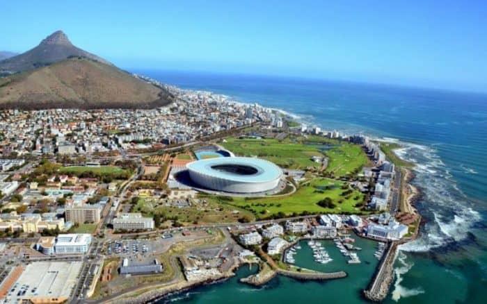 Курортный город Кейптаун