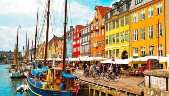 Курортный город Копенгаген