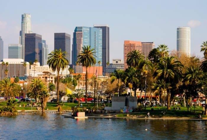 Курортный город Лос-Анджелес