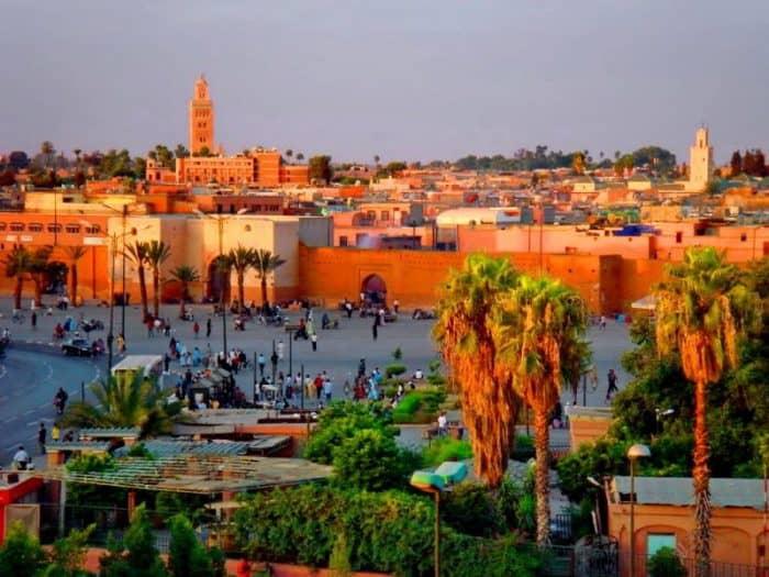 Курортный город Марракеш