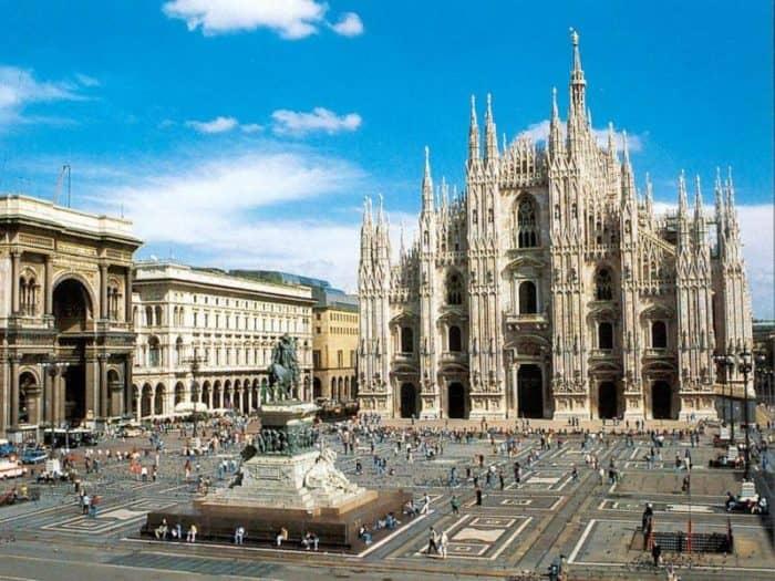 Курортный город Милан