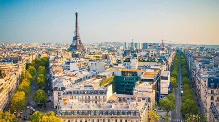 Курортный город Париж