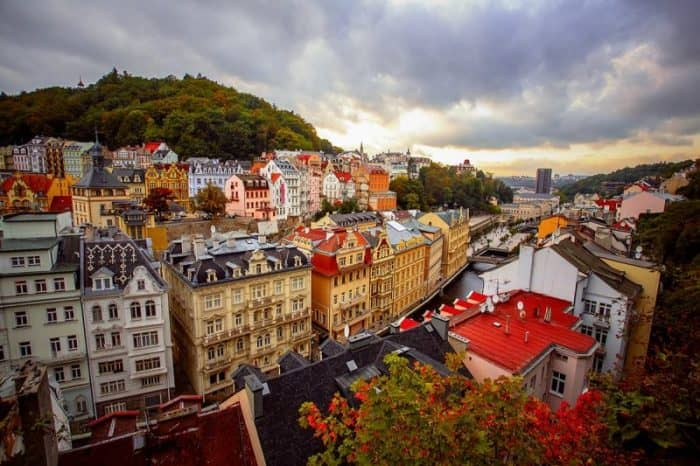 Курортный город Прага
