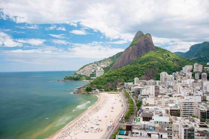 Курортный город Рио-Де-Жанейро