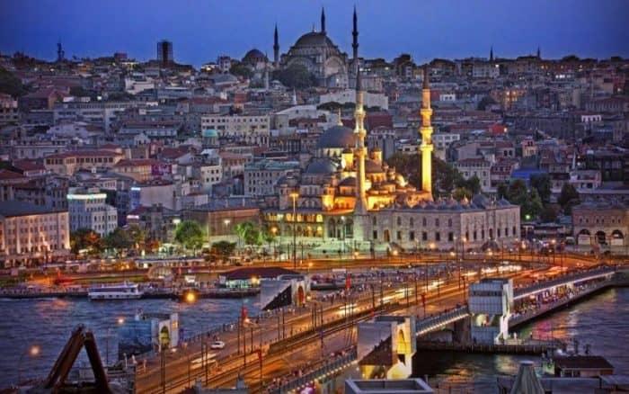 Курортный город Стамбул