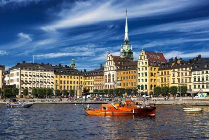 Курортный город Стокгольм