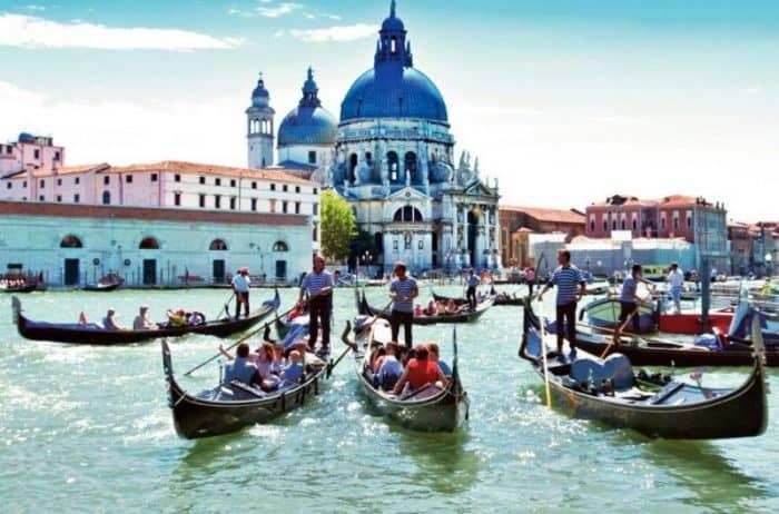Курортный город Венеция