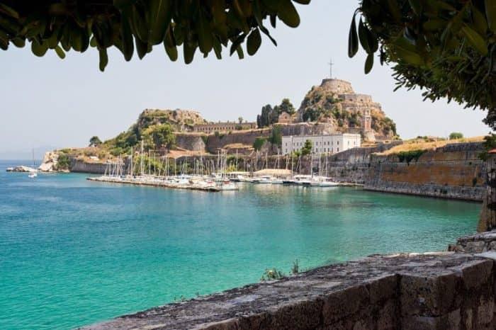 Курортный остров Корфу