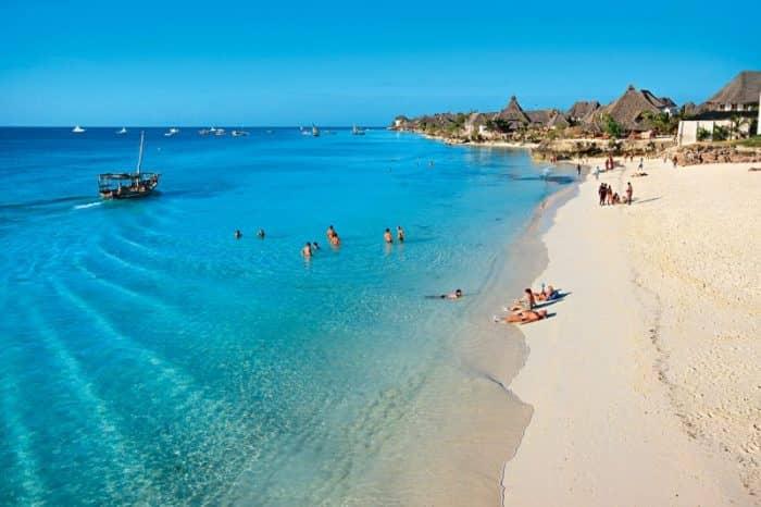 Курортный остров Занзибар