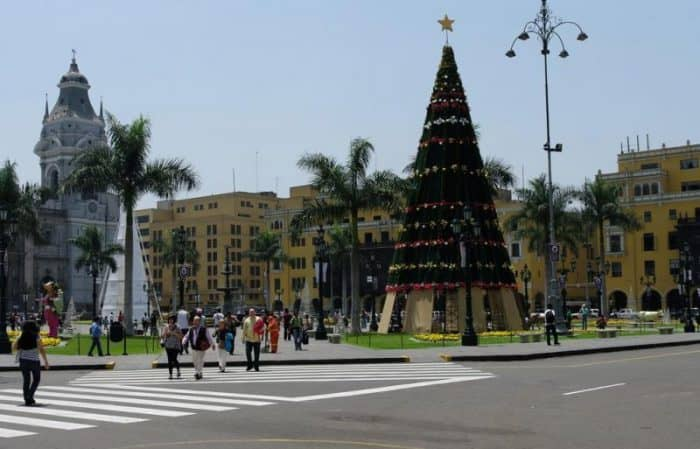 Plaza Mayor, Lima, Peru