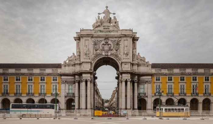 Лиссабон площадь