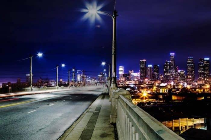 Лос-Анджелес ночью