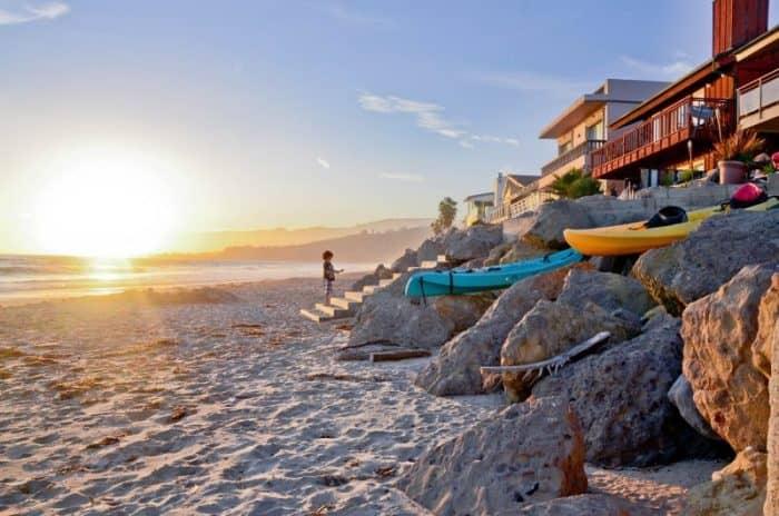 Лос-Анджелес пляж