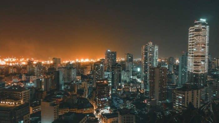 Манила ночью