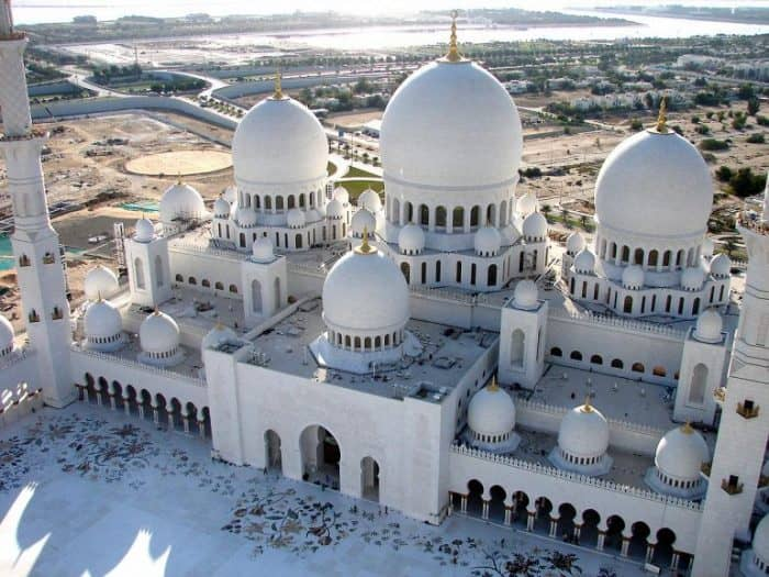 Мечеть шейха Зайда1