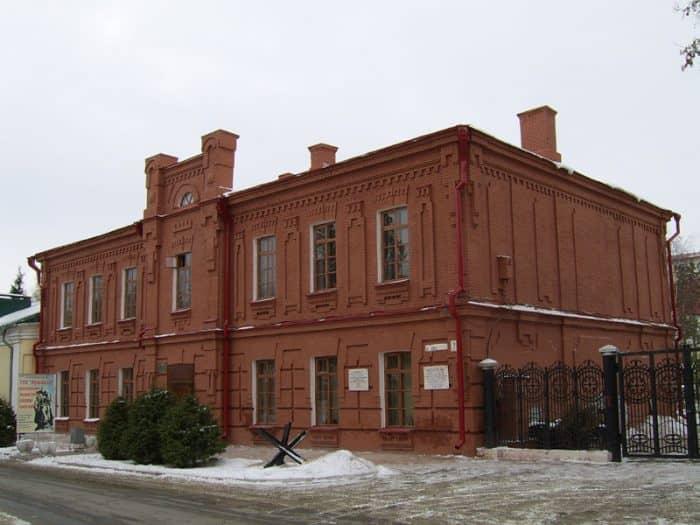 Музейный комплекс воинской славы.