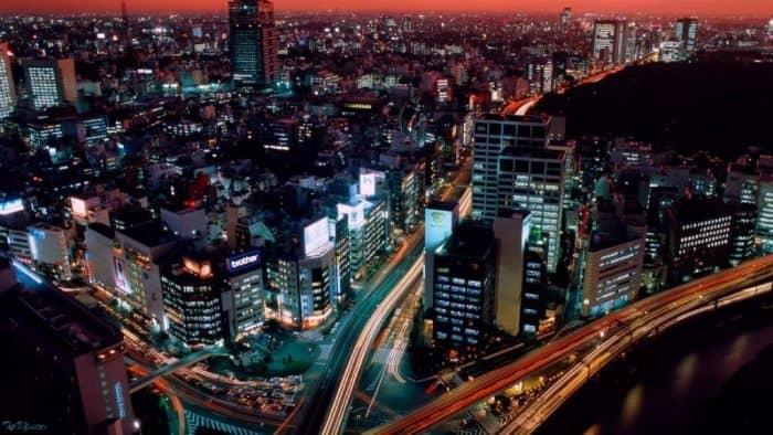 Ночь в Токио