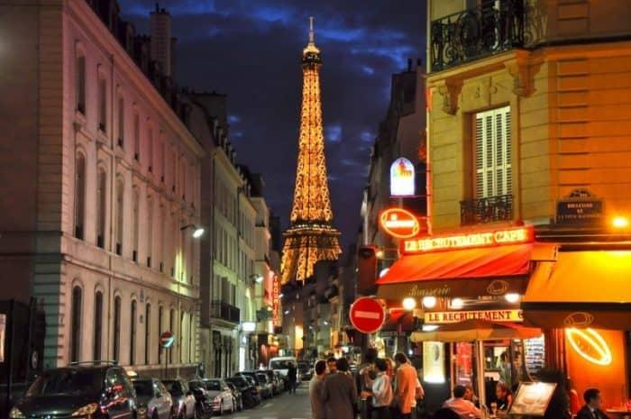 Ночная жизнь Парижа