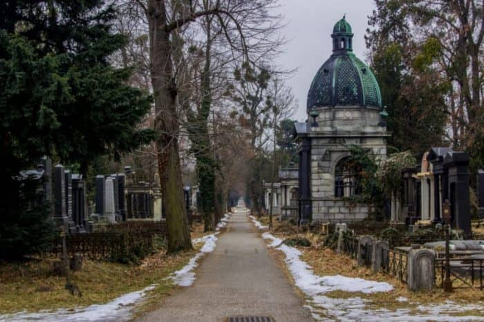 Ольсдорфский парк-кладбище