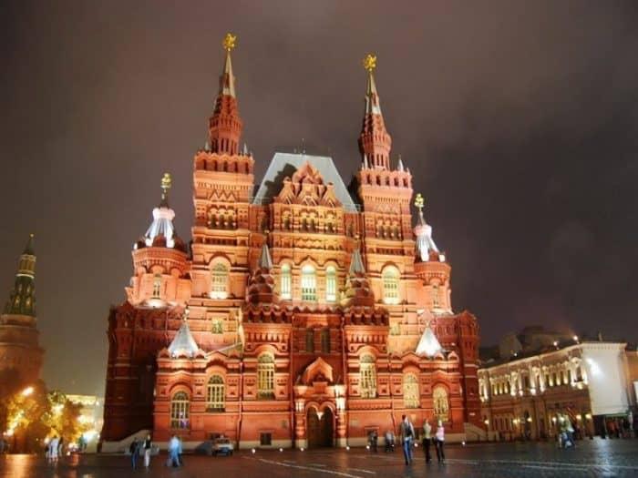 Особенности Москвы
