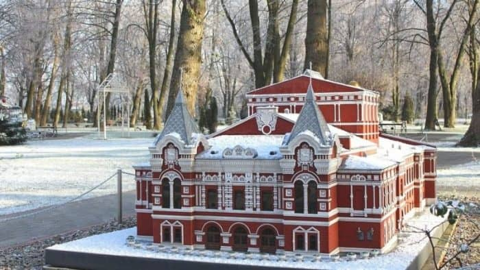 Парк миниатюр «История в архитектуре»