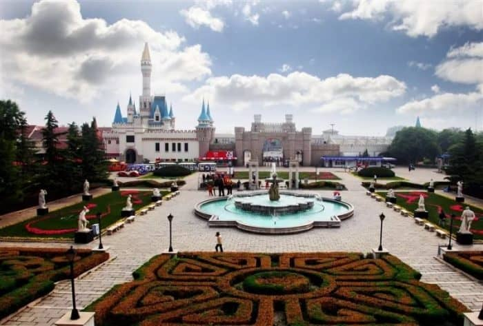 Парк мира Пекин