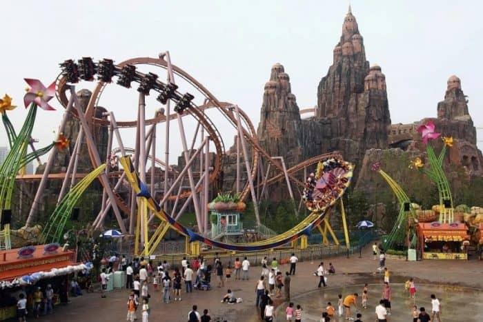 Парк развлечений в Пекине