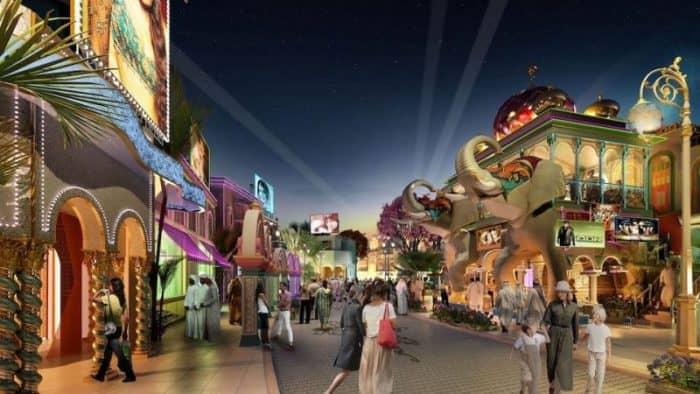 Парки развлечений в Дубае