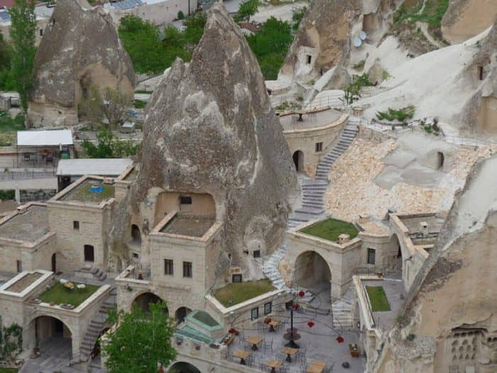 Пещерные поселения