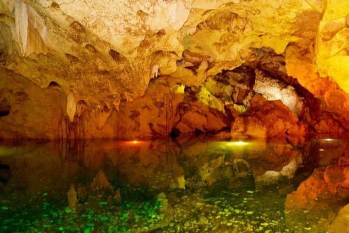 Пещеры Зеленого Грота