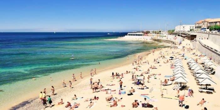 Пляж Parede