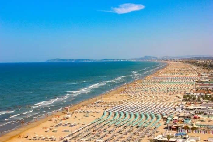 Пляжи Римини